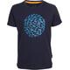 Elkline Butterbeidiefische T-Shirt Kids blueshadow